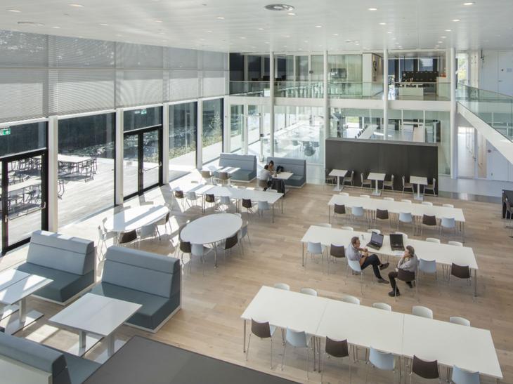 Vier pijlers voor een moderne kantoorruimte bis