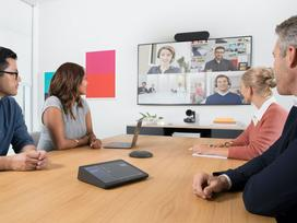 Logitech Room Solution; All-in-one MS Teams meeting room