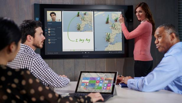 Surface Hub launch event