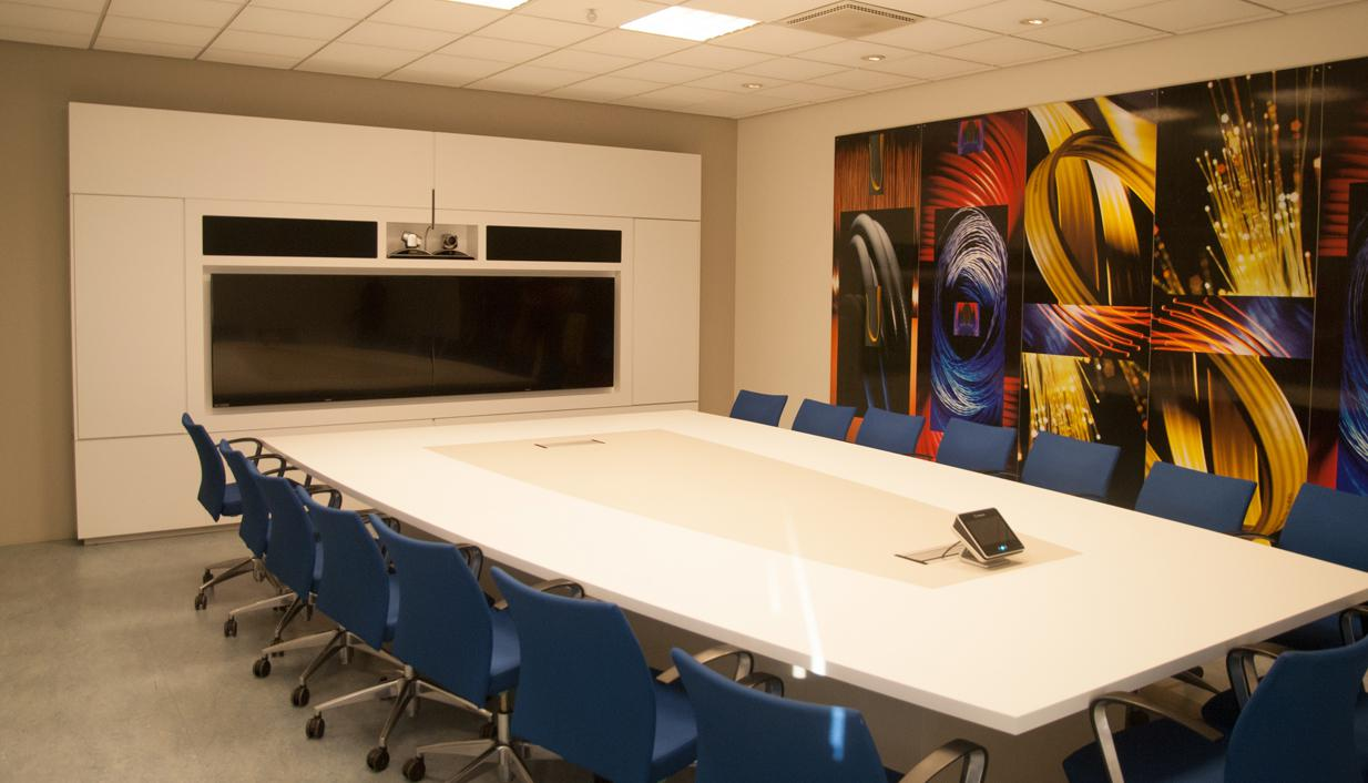 BIS high end boardroom inrichting